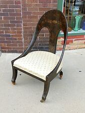 Aesthetic Movement Antique Curve Back accent Chair