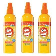 3 X Avon Naturals Kids Magnificent Mango Hair Detangling Spray 200ml