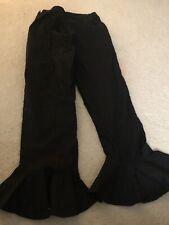SAPPHIRE Designer pakistani Ruffle Hem pants sz L latest style! Eid Gharara