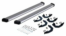 Running Boards Fit 05-17 Nissan Frontier Crew Cab Side Steps Bar Chrome Double