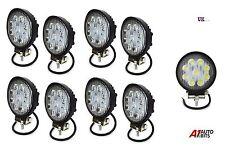 8X 27W 10-30V 9 LED WORK SPOT BEAM LAMPS LIGHTS NEW HOLLAND MASSEY FERGUSON JCB
