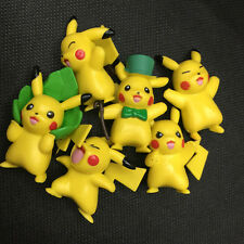 6pcs/Lot Cute Pokemon Pikachu Monster Action Cake Topper Figures Toy NEW Au Gift