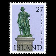 Iceland 1975 - 100th Anniv of the Thorvaldsen Society Art Sculture - Sc 487 MNH