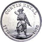 1876 Baltimore Maryland Centennial Merchant Token Patapsco Minuteman Soldier