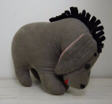 Vintage Eeyore Winnie the Pooh Plush Gund Japan missing tail