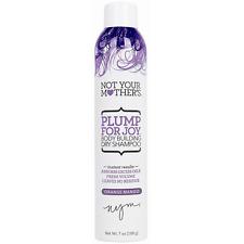 Not Your Mothers Plump for Joy Body Building Dry Shampoo, Orange Mango 7 oz