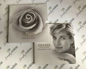 ~Simply Coins~ 1999 DIANA PRINCESS OF WALES 5 FIVE POUND COIN ROYAL MINT PACK