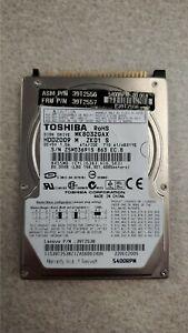 IBM 39T2557 39T2538 80GB 5400 RPM SFF HDD