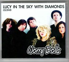 (GQ843) Worry Dolls, Lucy In The Sky With Diamonds - CD + DVD