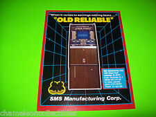 OLD RELIABLE HI LO JOKER POKER  By SMS NOS VIDEO POKER GAME PROMO SALES FLYER
