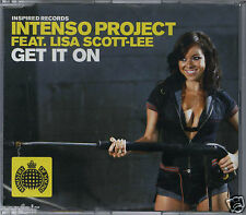 INTENSO PROJECT FEATURING LISA SCOTT-LEE - GET IT ON 2004 UK ENHANCED CD SINGLE