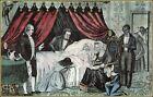 Currier & Ives: Death of Washington  Art Print