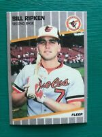 1989 Fleer BILL RIPKEN Orioles Baseball Iconic Error FU@K Face REPRINT Card #616
