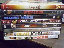 (9) Channing Tatum DVD Lot: Magic Mike (2) G.I. Joe  Dear John  Stop Loss & MORE