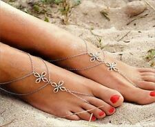 """Acrylic 10 - 10.99"""" Length Costume Anklets"""