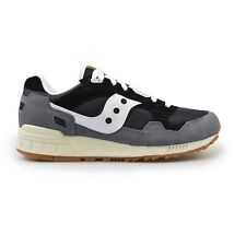 Saucony Shadow 5000 Classic Mens Trainers Navy Grey Double Boxed on Sale RRP £90