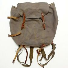 Swedish Army Rucksack Triple Crown Alpine Backpack Vintage Military OG Rare