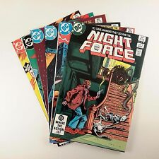 Night Force Set of 6 (#8-13) VF+ Gene Colan Covers - Origin The Baron