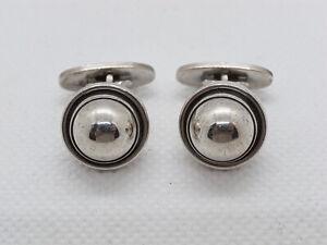 GEORG JENSEN Sterling Silver 925 Cufflinks #44D by Harald Nielsen Denmark