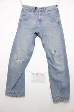 Levis engineered destroyed boyfriend jeans usato (Cod.F1245) Tg.46 W32 L34