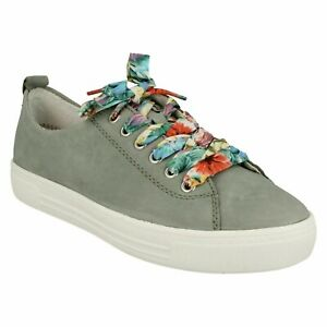 D0900 REMONTE SOFT LADIES MULTICOLOURED LACES LIGHTWEIGHT TRAINERS CASUAL SHOES