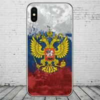 Russian Flag Russia Case iPhone 5/5S/SE 6/6S 6+/6S+ 7/7+ 8/8+ X XR XS MAX