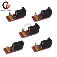 5Pcs 5.5x 2.1mm DC Jack Socket Power Supply Module 5.5mmx 2.1mm For Arduino