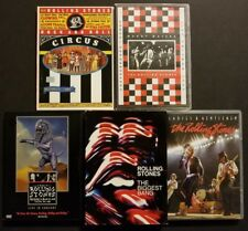 Rolling Stones 8 DVD Lot Circus Chicago Babylon Biggest Bang Ladies & Gentlemen