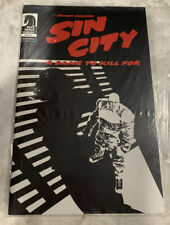 Frank Miller's Sin City: A Dame To Kill For Dark Horse Comics Special Edition