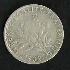 2 Francs Argent Semeuse 1902