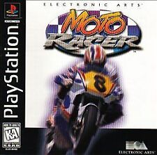 Moto Racer, Good PlayStation, Playstation Video Games