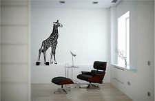 Giraffe Wall Sticker Wall Art Decor Vinyl Decal Sticker Mural Huge!!