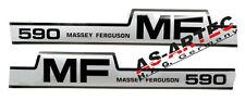 5179Aufklebersatz Traktor Massey Ferguson MF 590