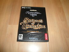 NEVERWINTER NIGHTS 1 SHADOWS OF UNDRENTIDE EXPANSION PARA PC NUEVO PRECINTADO