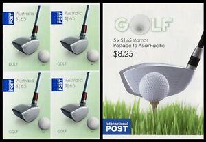 2011 Golf - $1.65 Sheetlet Block of 4 stamps