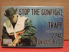 Trapp 2PAC & The Notorious B.I.G. - Stop the Gunfight Cassette Single BRAND NEW