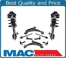 Front Complete Struts Control Arms Tie Rod Sway Links for Nissan 98-99 Altima