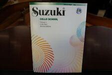 Suzuki Cello School Cello Part Volume 1 (Revised Edition) Book & Cd