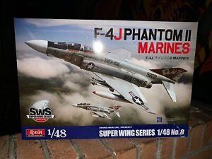 Zoukei Mura F-4J Phantom II Marines  - OOP - Rare 1/48.  - New in Box