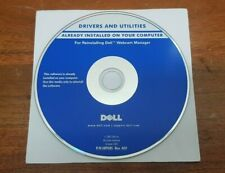Dell Drivers Utilities Disc Software Reinstalling Dell Webcam Manager 2007