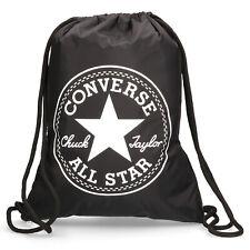 CONVERSE FLASH GYMSACK BLACK  C40FGB10  RRP £15 CINCH GYM SCHOOL BAG