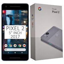"""NUOVO CON SCATOLA 5"""" Pollici Google Pixel 2 (2017) G011A 64GB Blue Sbloccato Di Fabbrica 4G SIMFREE"""