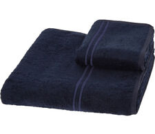 PRATESI ORANGE Navy Towels Set BNWT