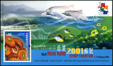 Hong Kong 916 S/s, MNH. Corals: Zoanthus. Dolphines, 2000