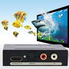 Separator HDMI To HDMI Audio Spdif R/L Audio Signal Converter With USB Cable IB