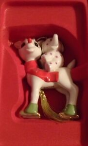 Lenox Ornament Rudolph's Merry Misfit - New in Box