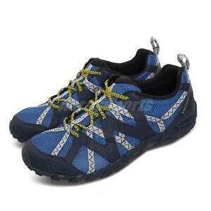 Merrell Waterpro Maipo 2 Cobalt Blue Yellow Men Outdoors Hiking Shoes J034053