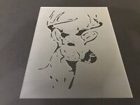 Deer #2 Stencil 10mm or 7mm Thick, Crafts, Hunting, Buck, Doe, Airbrush