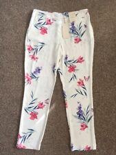 M&S PER UNA ROMA Tapered LEG trousers UK16 EU44 Regular BNWT Multi