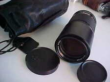 Contax Carl Zeiss T Star 200mm F4 Tele Tessar lens  PRICE IMPROVED!